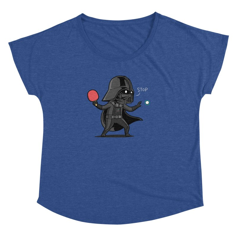 Sporty Buddy - Table Tennis Women's Dolman Scoop Neck by Flying Mouse365