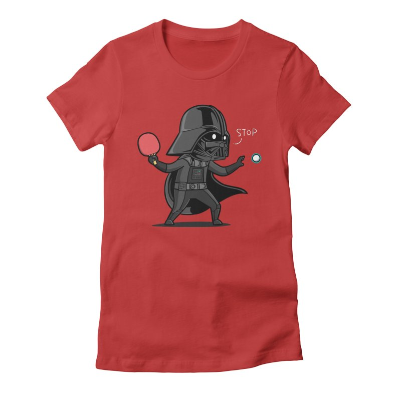Sporty Buddy - Table Tennis Women's T-Shirt by Flying Mouse365