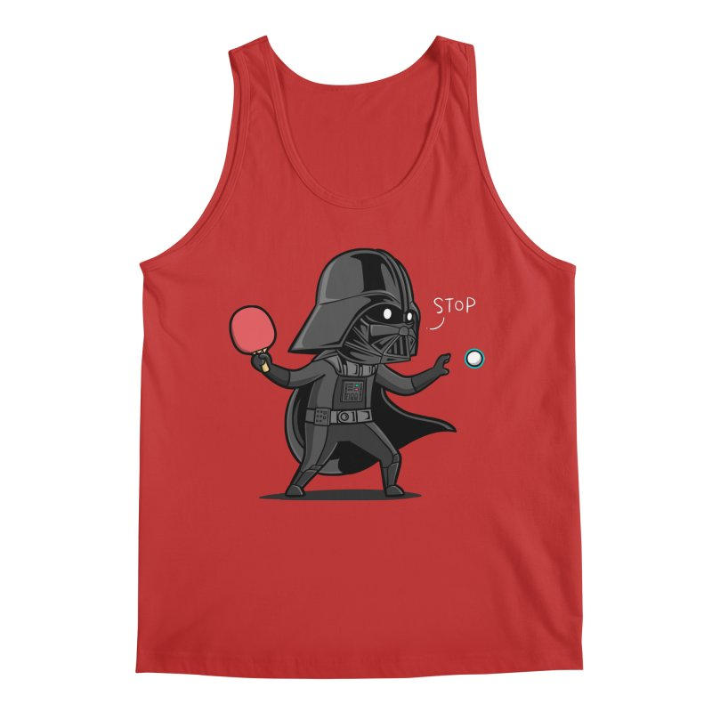 Sporty Buddy - Table Tennis Men's Regular Tank by Flying Mouse365
