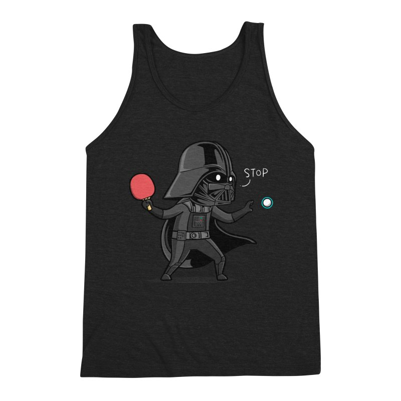 Sporty Buddy - Table Tennis Men's Triblend Tank by Flying Mouse365