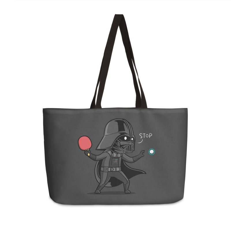 Sporty Buddy - Table Tennis Accessories Weekender Bag Bag by Flying Mouse365