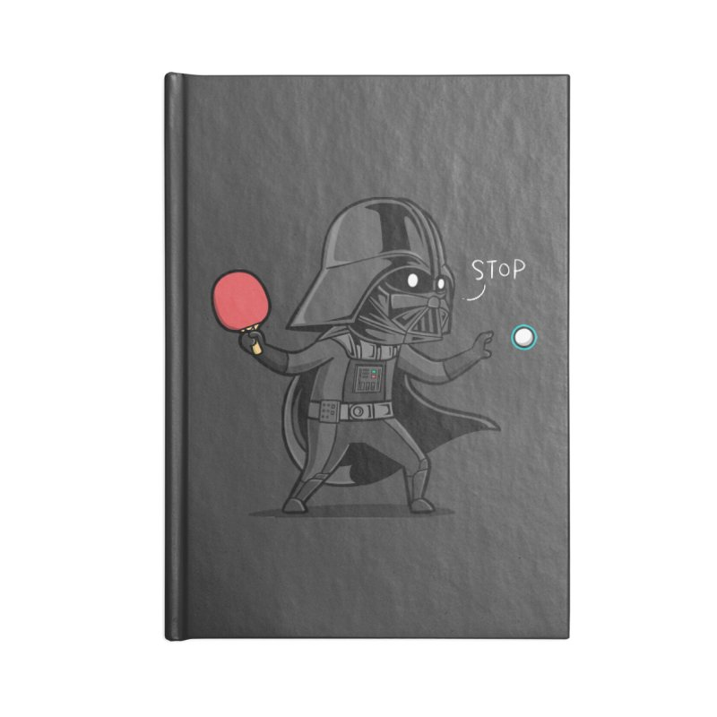 Sporty Buddy - Table Tennis Accessories Notebook by Flying Mouse365