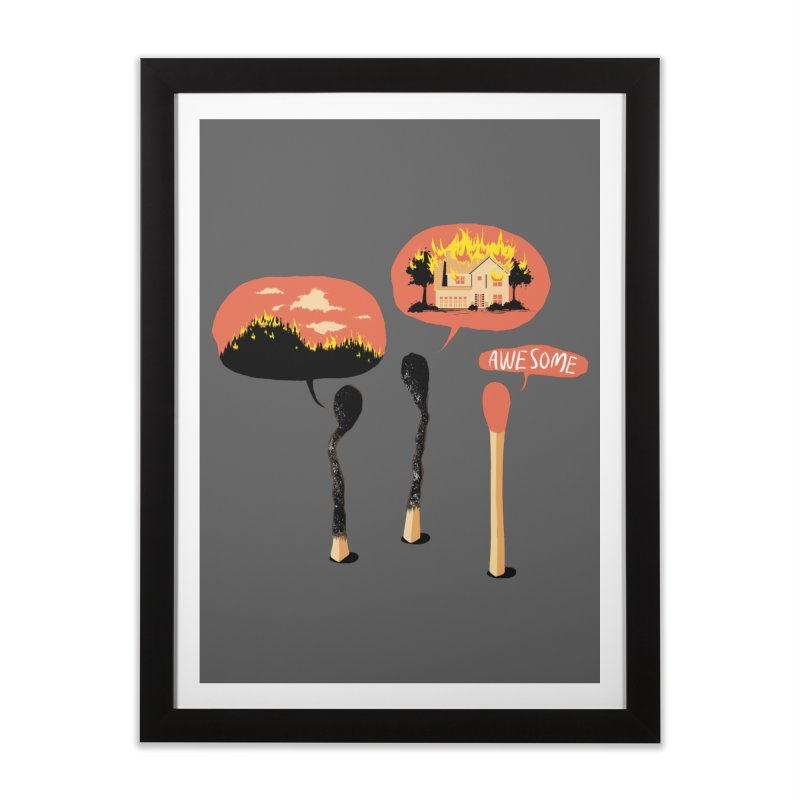 Show Off Home Framed Fine Art Print by Flying Mouse365