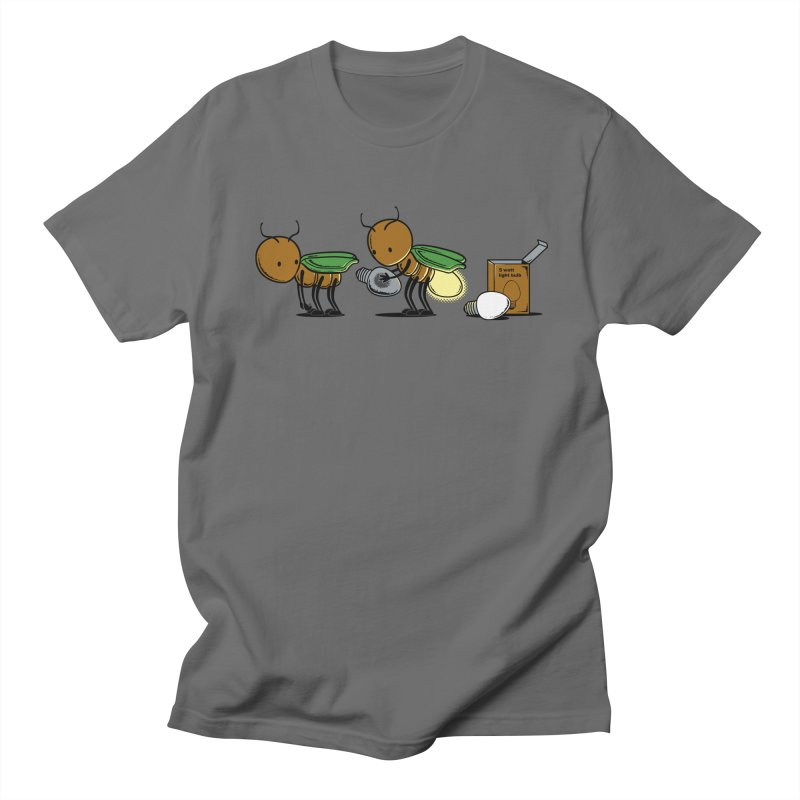 Changing Bulb Men's T-Shirt by Flying Mouse365