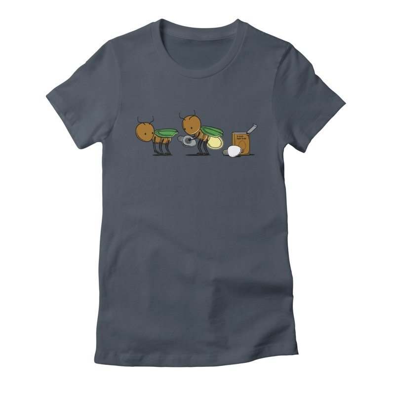 Changing Bulb Women's T-Shirt by Flying Mouse365