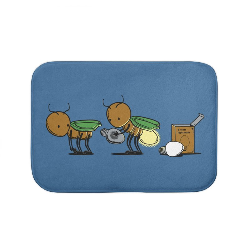 Changing Bulb Home Bath Mat by Flying Mouse365