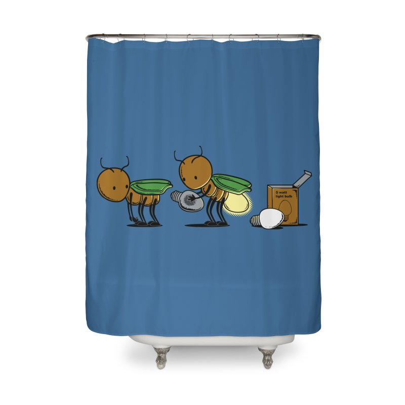 Changing Bulb Home Shower Curtain by Flying Mouse365