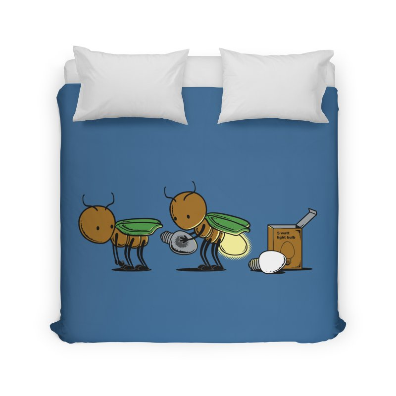Changing Bulb Home Duvet by Flying Mouse365