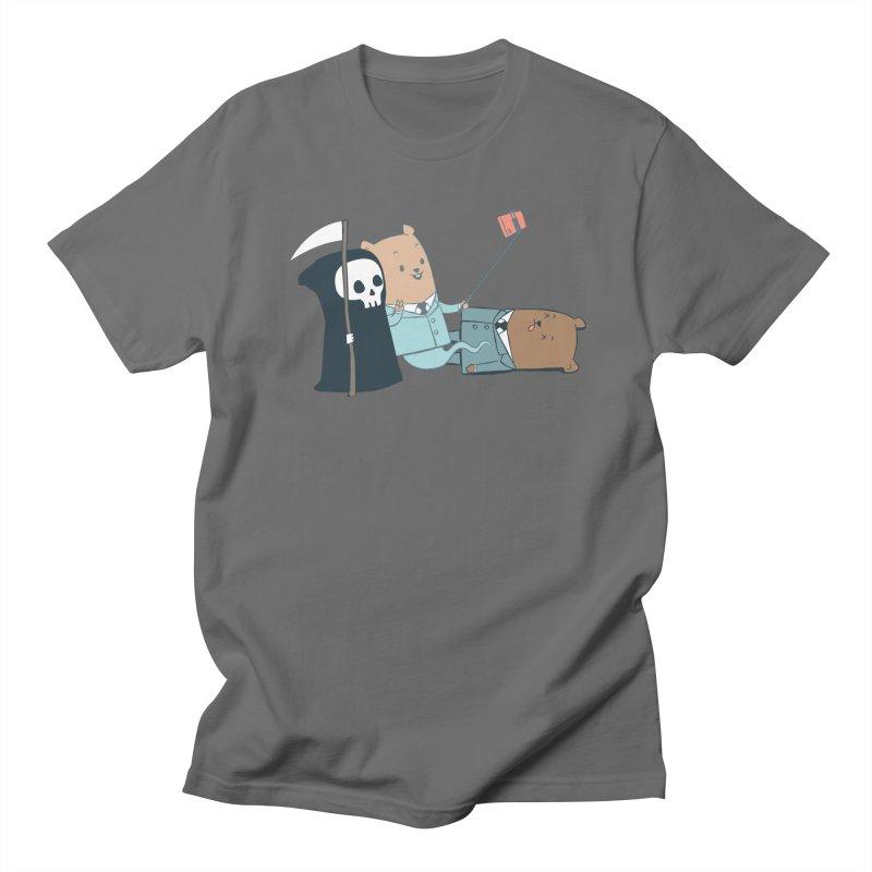 EDDIE TEDDY - Selfie Men's Regular T-Shirt by Flying Mouse365