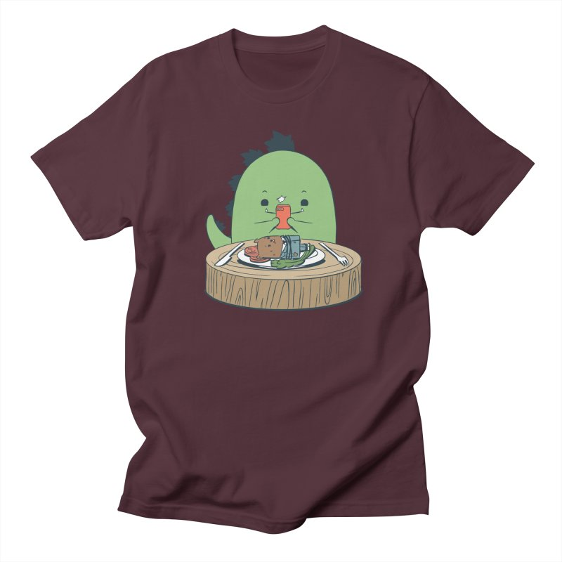 EDDIE TEDDY - Food Photo Men's Regular T-Shirt by Flying Mouse365