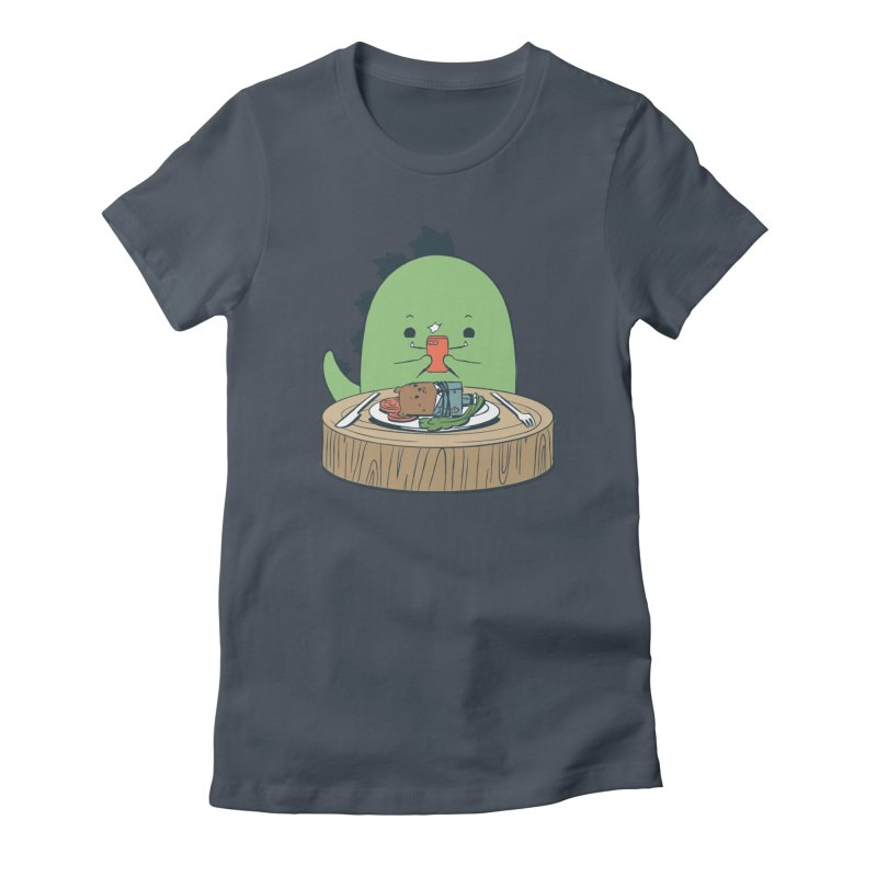 EDDIE TEDDY - Food Photo Women's French Terry Zip-Up Hoody by Flying Mouse365