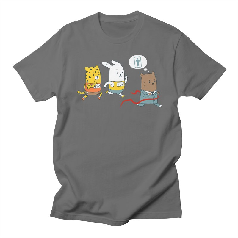 EDDIE TEDDY - Champion Runner Men's T-Shirt by Flying Mouse365