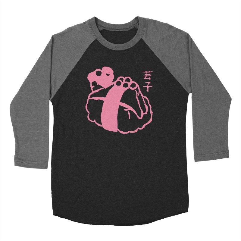 Geiko Sushi Women's Baseball Triblend Longsleeve T-Shirt by Flying Mouse365