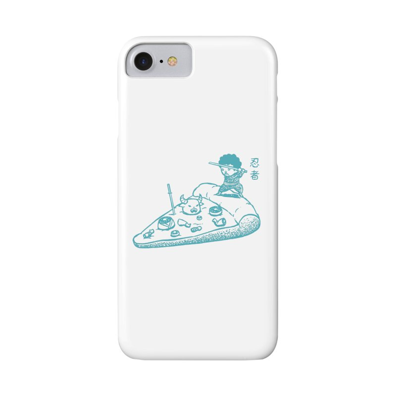 Ninja Pizza Accessories Phone Case by Flying Mouse365