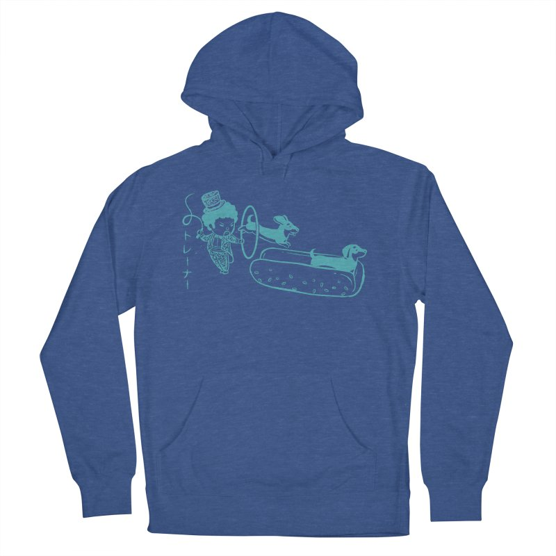 Hot Dog Trainer Women's Pullover Hoody by Flying Mouse365