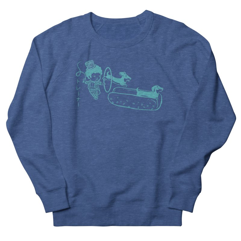 Hot Dog Trainer Men's Sweatshirt by Flying Mouse365
