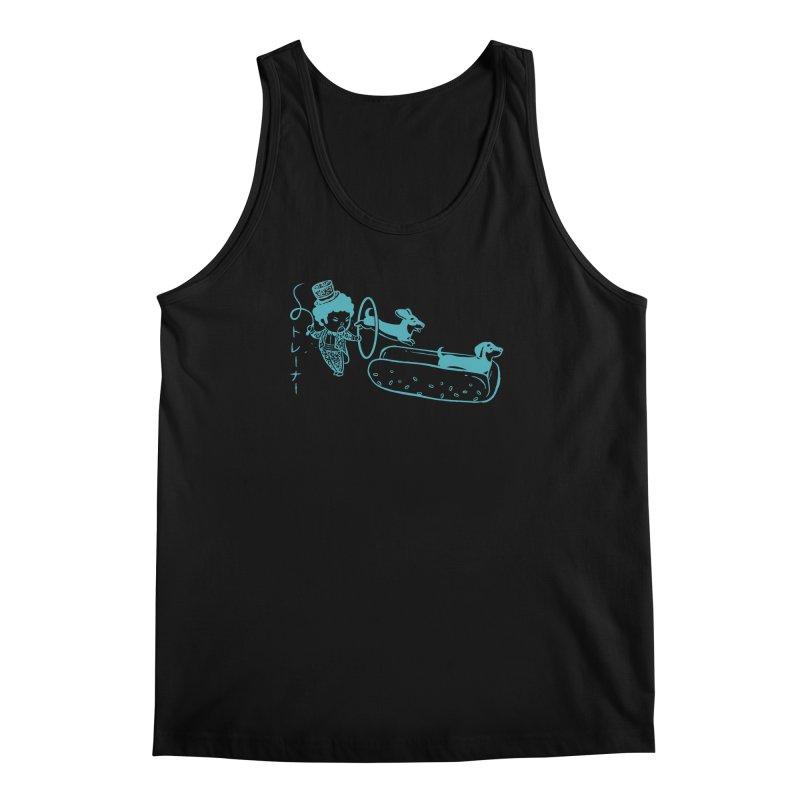 Hot Dog Trainer Men's Regular Tank by Flying Mouse365