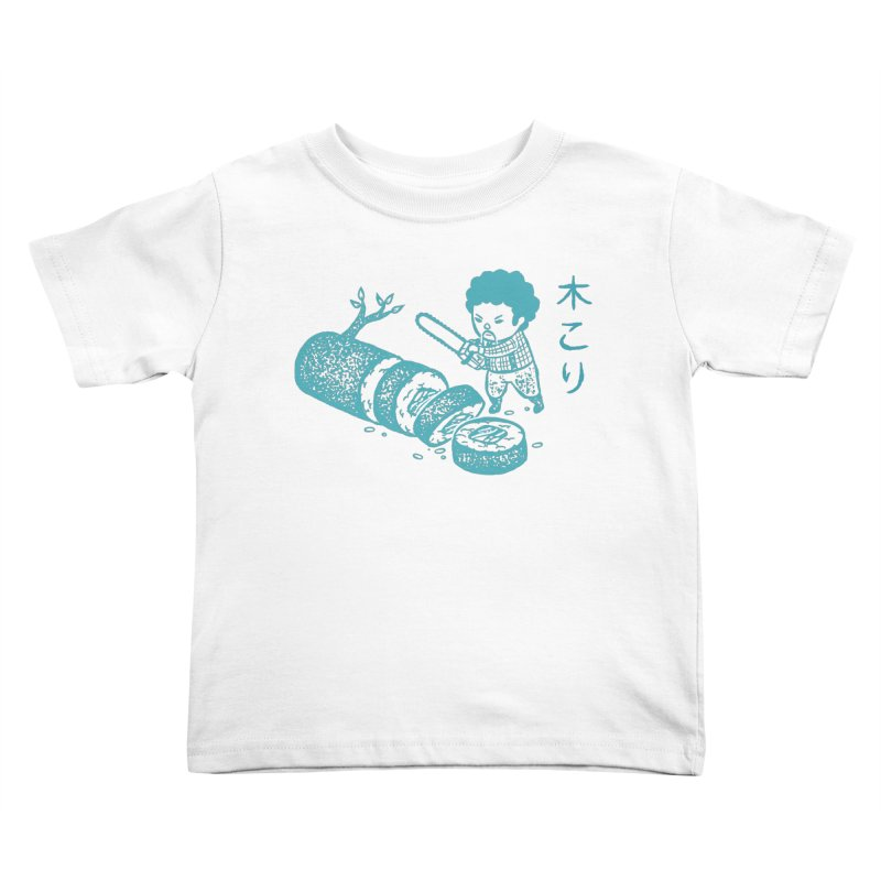 OH MY GOR - Lumberjack Maki Kids Toddler T-Shirt by Flying Mouse365