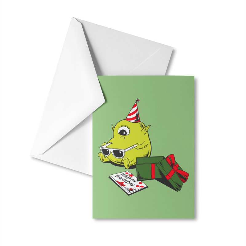 Memorable Birthday Gift Accessories Greeting Card by Flying Mouse365