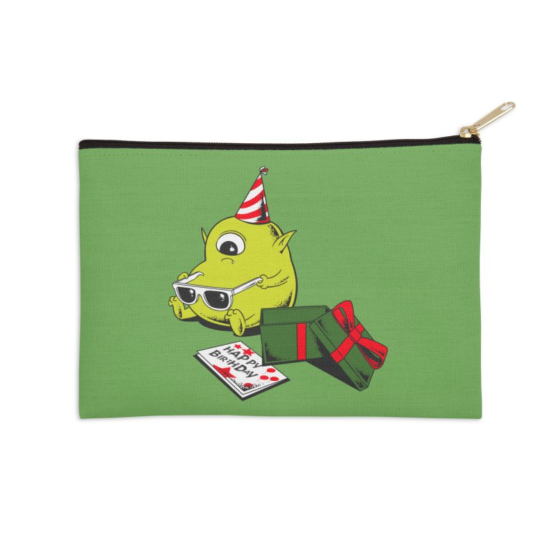 Memorable Birthday Gift Accessories Zip Pouch by Flying Mouse365