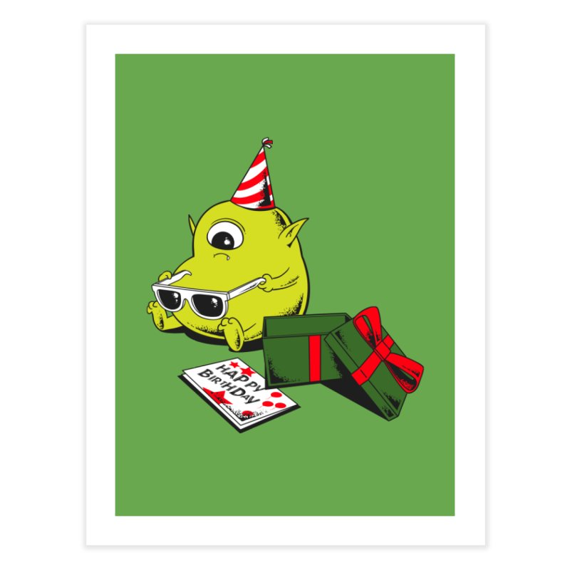 Memorable Birthday Gift Home Fine Art Print by Flying Mouse365