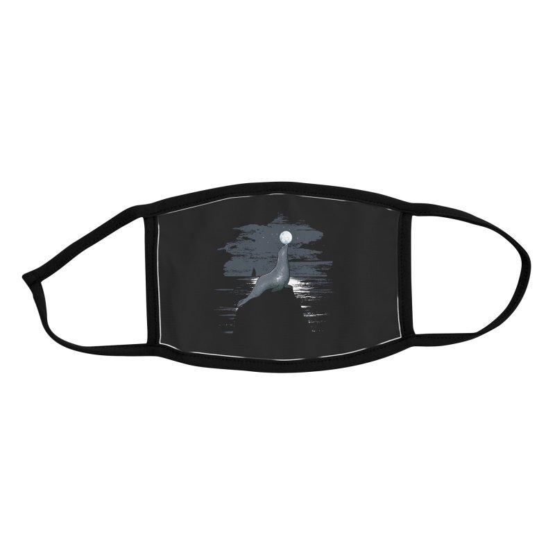 Midnight Show Accessories Face Mask by Flying Mouse365