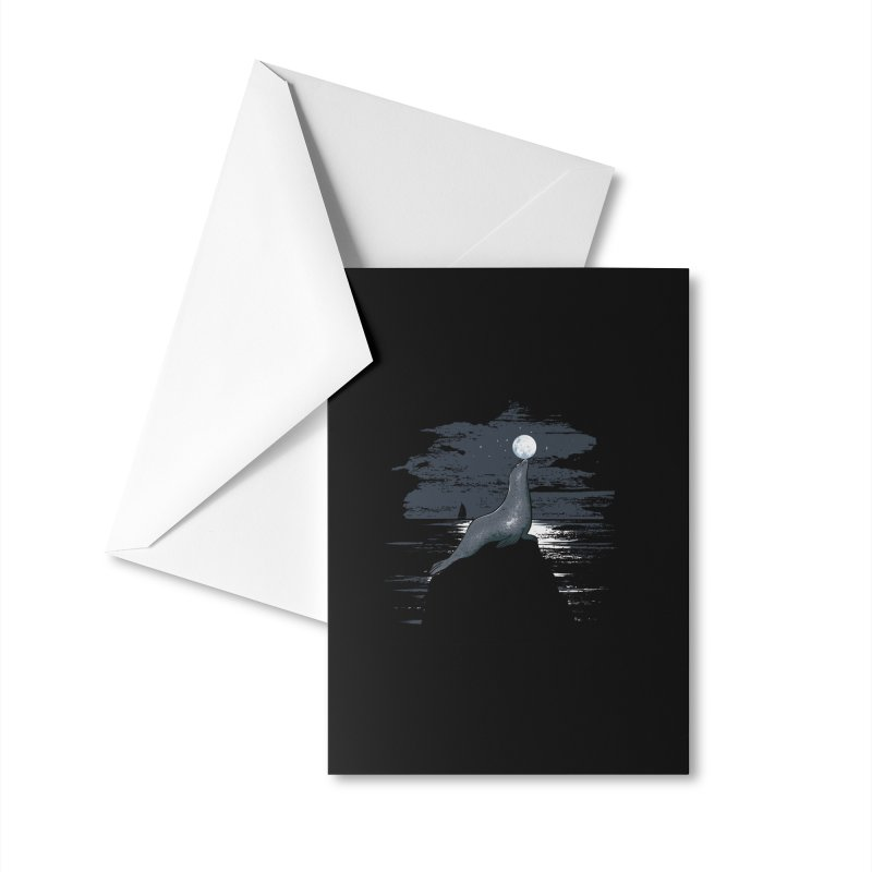 Midnight Show Accessories Greeting Card by Flying Mouse365