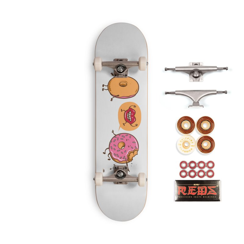 Monster Attack Accessories Skateboard by Flying Mouse365