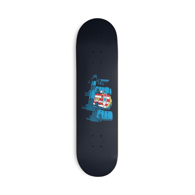 Movie Time Accessories Skateboard by Flying Mouse365