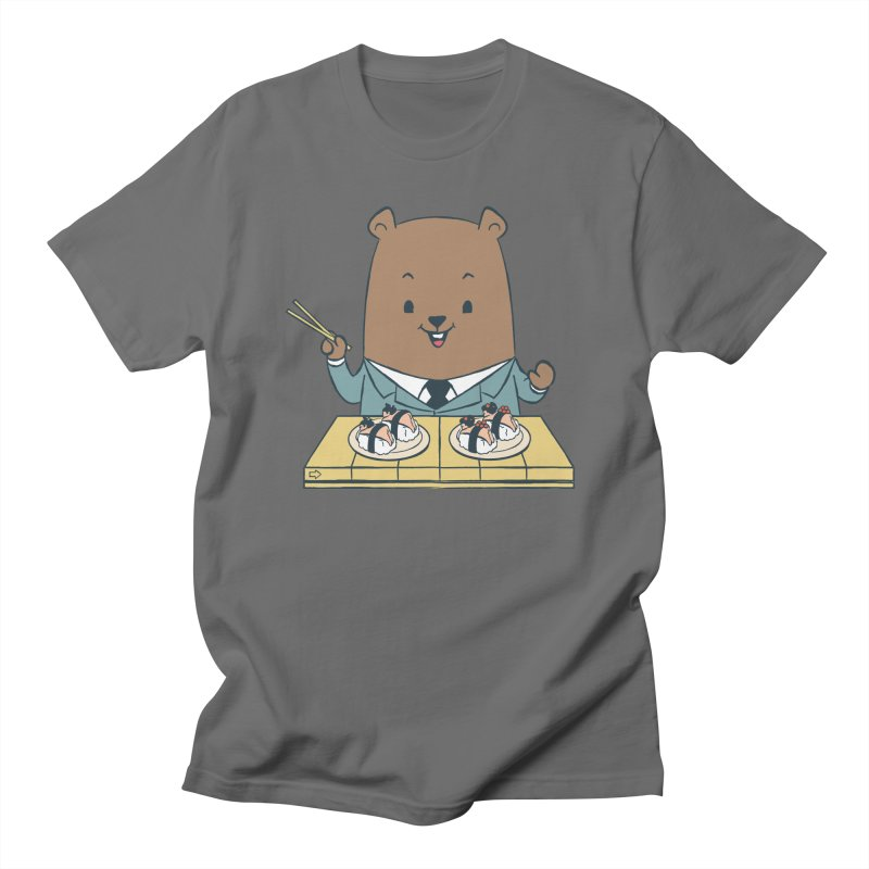 EDDIE TEDDY - Sushi Lover Men's T-Shirt by Flying Mouse365