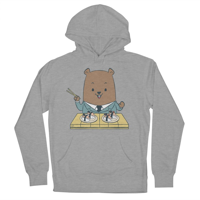 EDDIE TEDDY - Sushi Lover Women's Pullover Hoody by Flying Mouse365