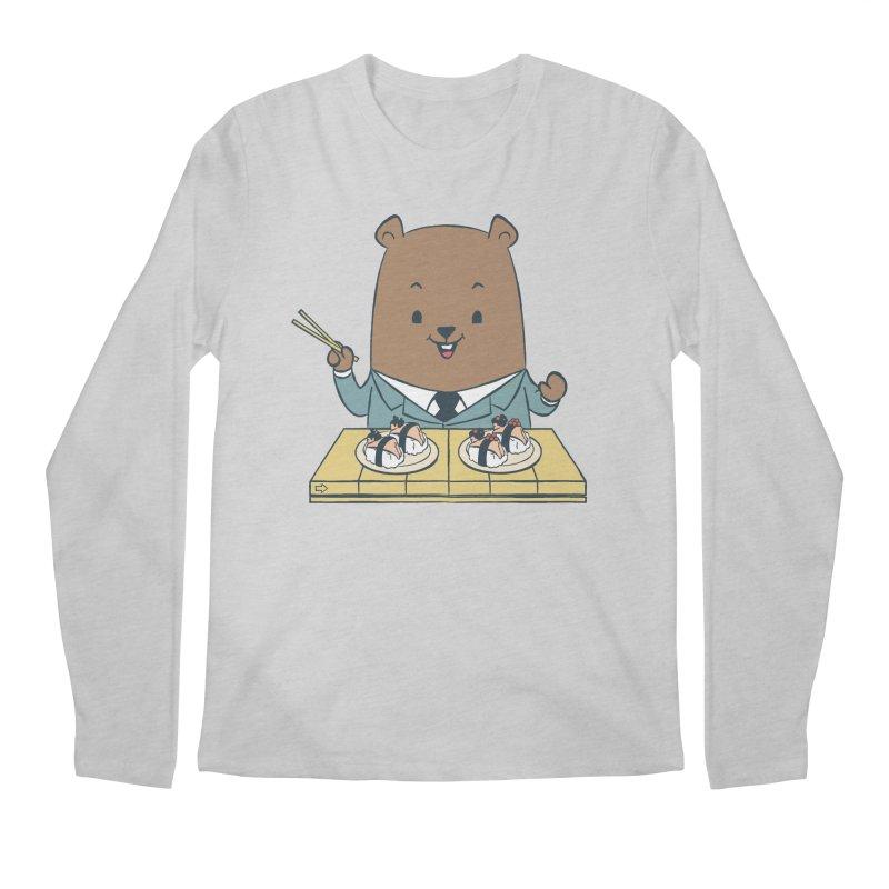 EDDIE TEDDY - Sushi Lover Men's Regular Longsleeve T-Shirt by Flying Mouse365