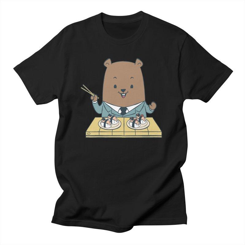 EDDIE TEDDY - Sushi Lover Men's Regular T-Shirt by Flying Mouse365