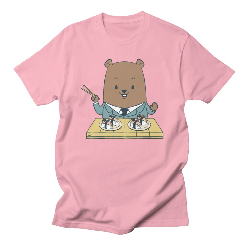 EDDIE TEDDY - Sushi Lover Women's Unisex T-Shirt by Flying Mouse365
