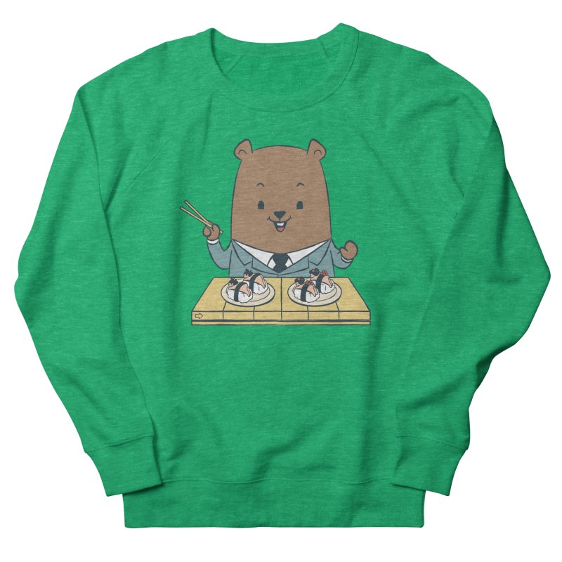 EDDIE TEDDY - Sushi Lover Men's Sweatshirt by Flying Mouse365