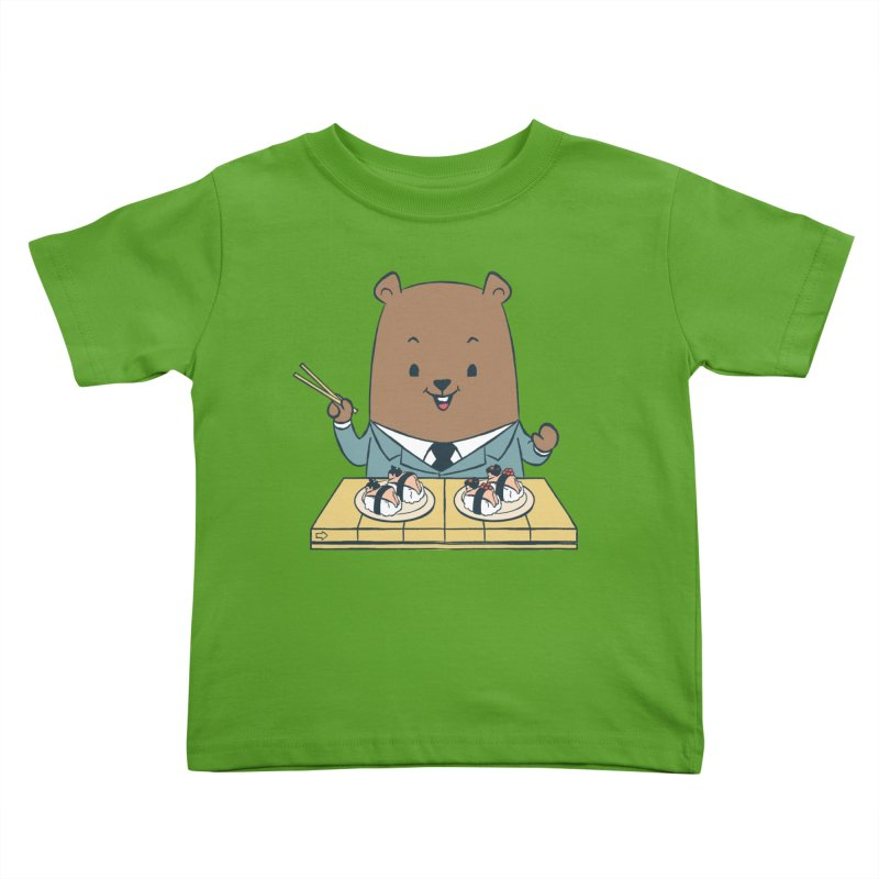 EDDIE TEDDY - Sushi Lover Kids Toddler T-Shirt by Flying Mouse365