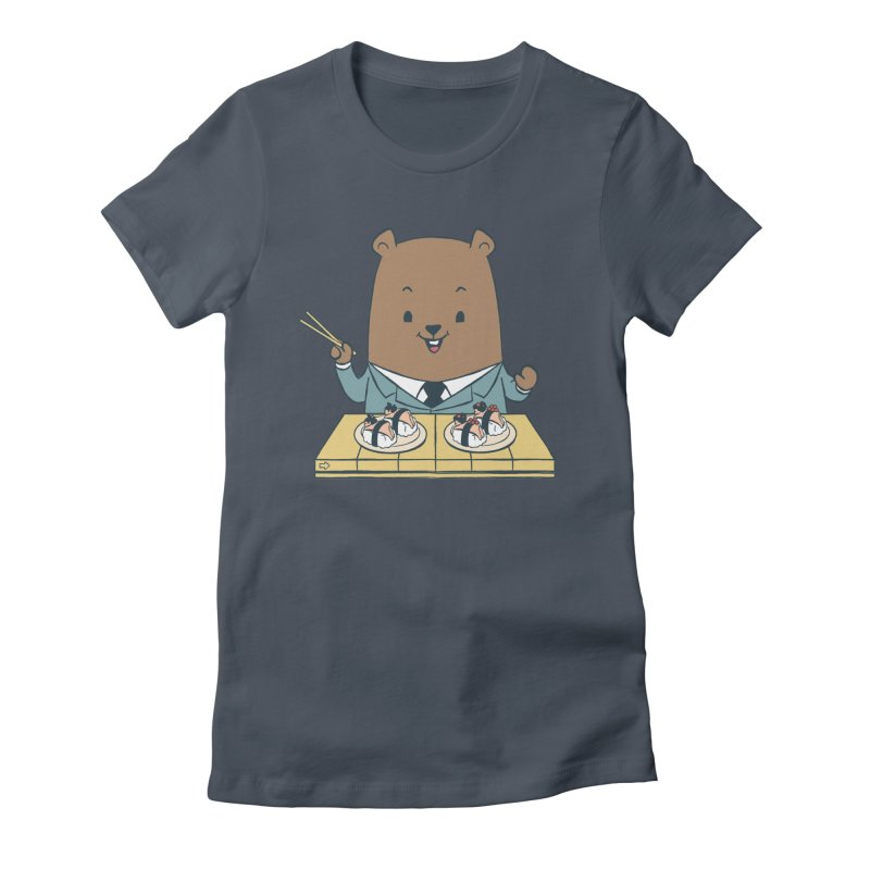 EDDIE TEDDY - Sushi Lover Women's T-Shirt by Flying Mouse365