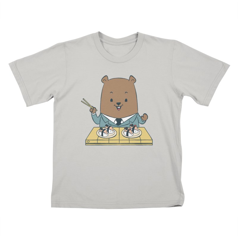 EDDIE TEDDY - Sushi Lover Kids T-shirt by Flying Mouse365