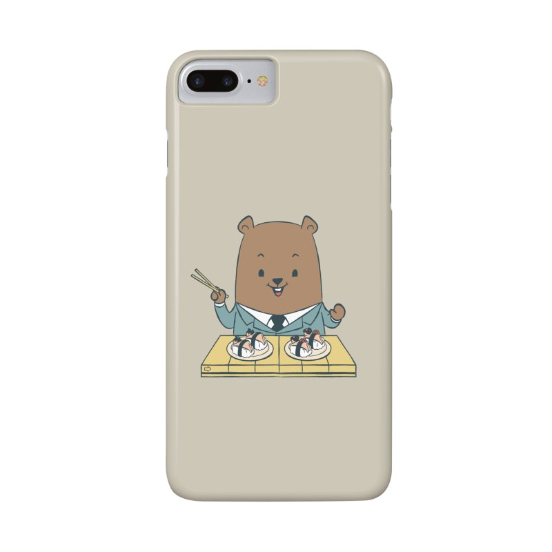 EDDIE TEDDY - Sushi Lover Accessories Phone Case by Flying Mouse365