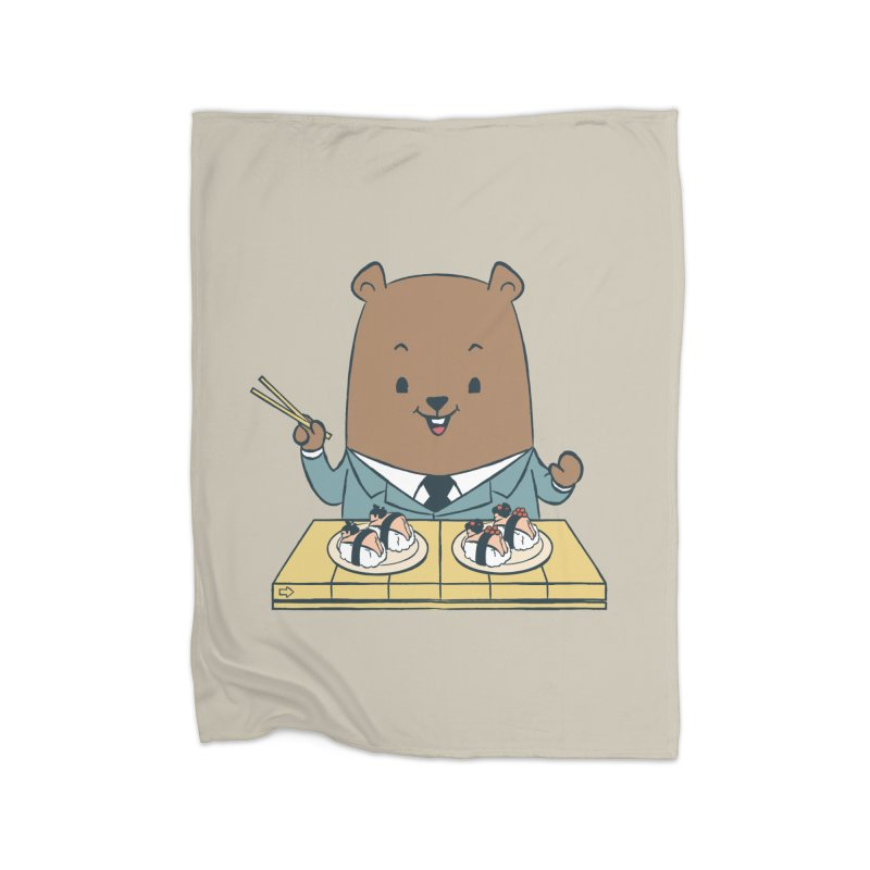 EDDIE TEDDY - Sushi Lover Home Blanket by Flying Mouse365