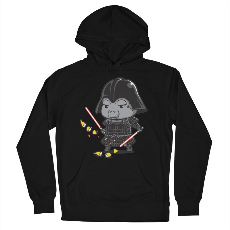 Samurai Dark Women's Pullover Hoody by Flying Mouse365