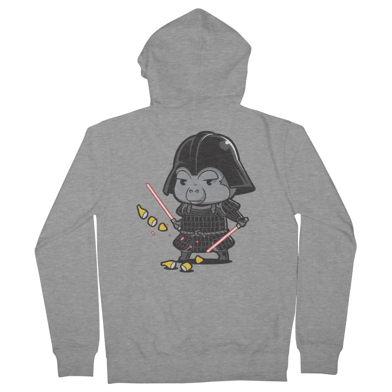 Samurai Dark Women's Zip-Up Hoody by Flying Mouse365