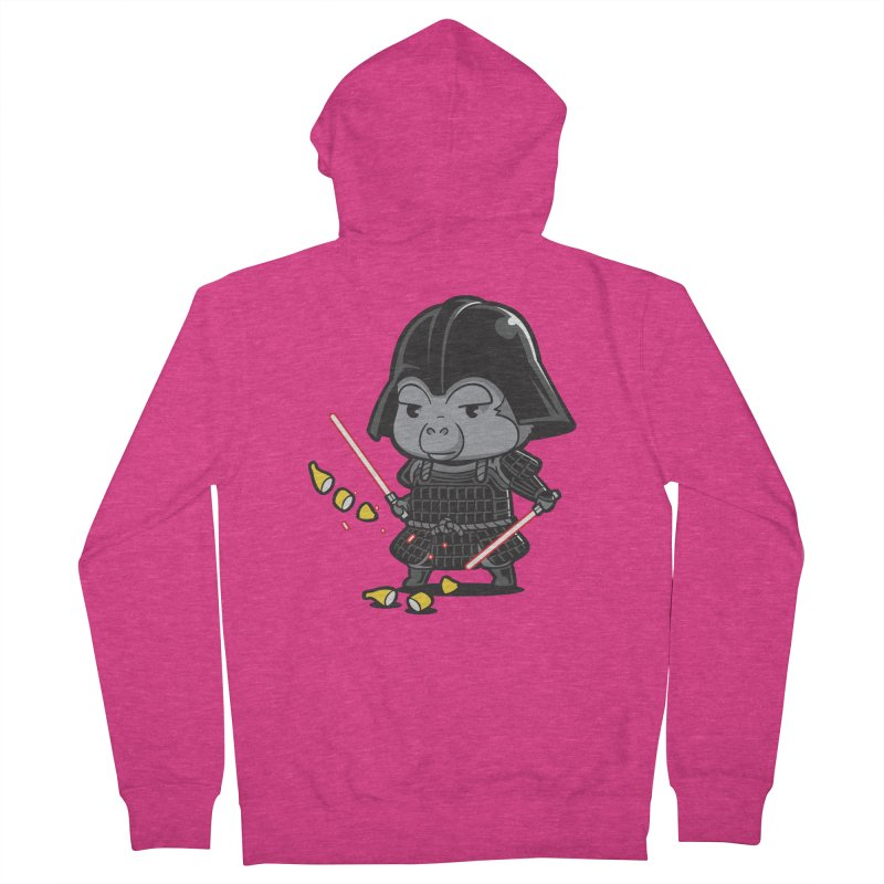 Samurai Dark Women's Zip-Up Hoody by Flying Mouse365
