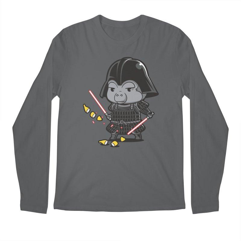 Samurai Dark Men's Longsleeve T-Shirt by Flying Mouse365