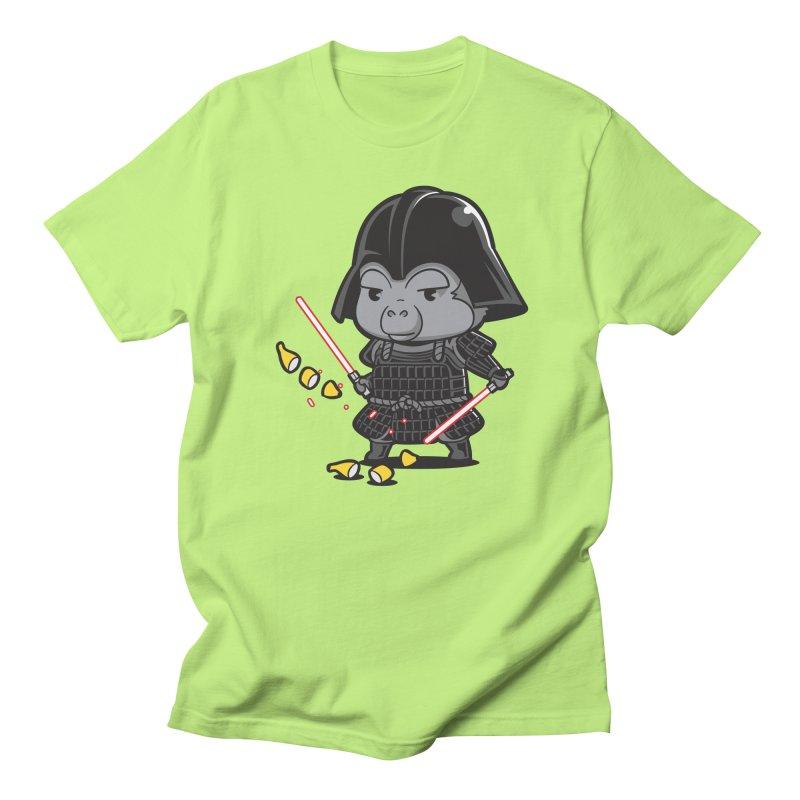Samurai Dark Men's Regular T-Shirt by Flying Mouse365