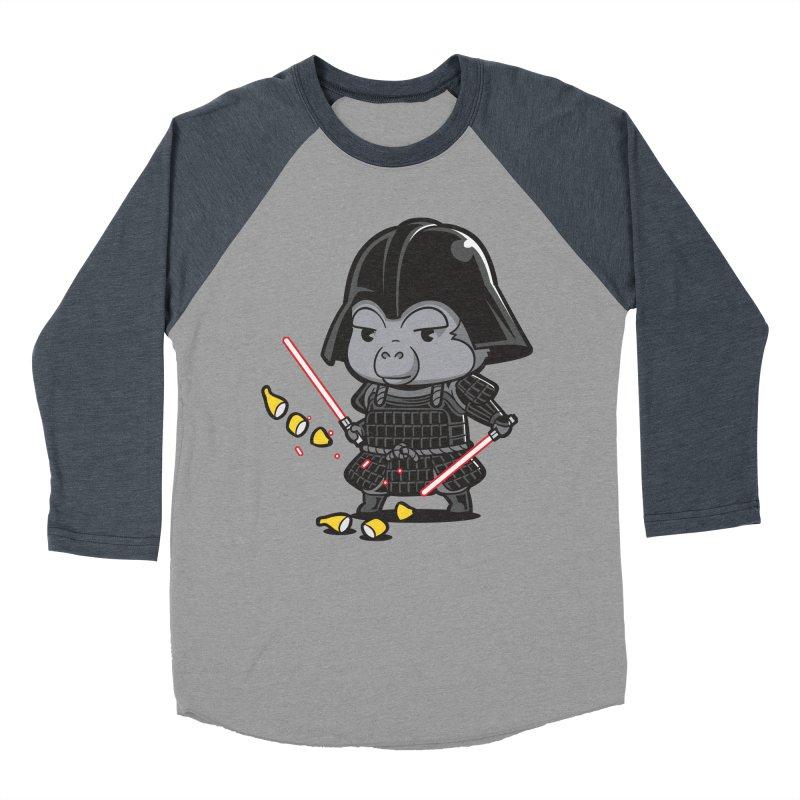 Samurai Dark Women's Baseball Triblend T-Shirt by Flying Mouse365