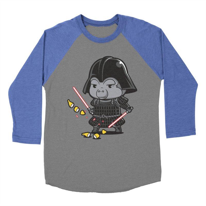 Samurai Dark Men's Baseball Triblend T-Shirt by Flying Mouse365