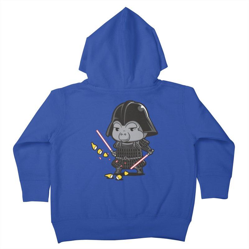 Samurai Dark Kids Toddler Zip-Up Hoody by Flying Mouse365