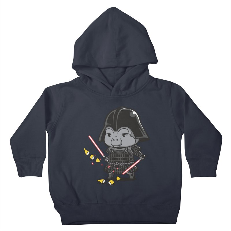 Samurai Dark Kids Toddler Pullover Hoody by Flying Mouse365