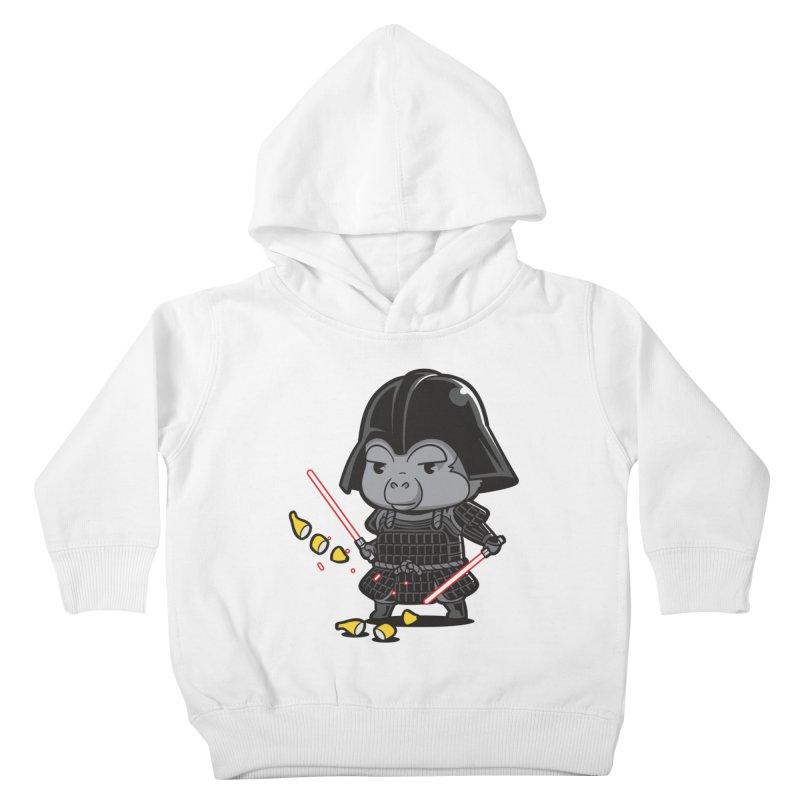 Samurai Dark Kids Toddler Pullover Hoody by Flying Mouse365